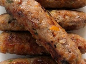 Pork, Apricot and Fennel Sausages